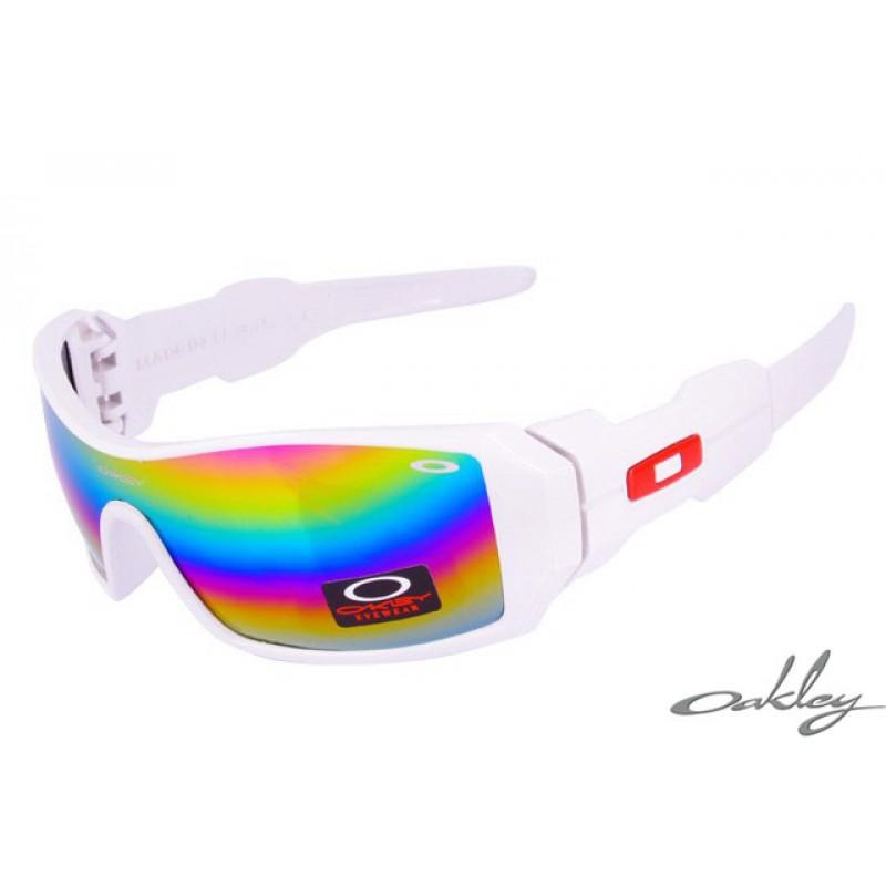 49aae6dbbd3 For Cheap Oakley Oil Rig Mask White Sunglasses-cheap oakley ...